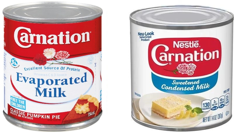 What's the Difference Between Condensed Milk and Evaporated Milk?
